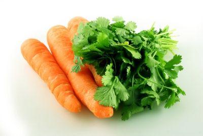 zanahoria perejil