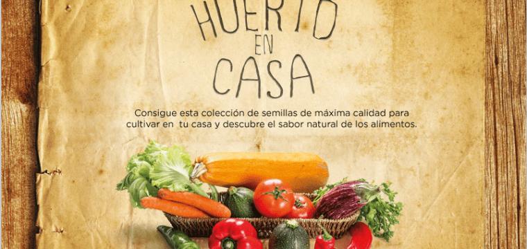 """Promocion """"El Huerto en Casa"""" en el periódico HOY"""