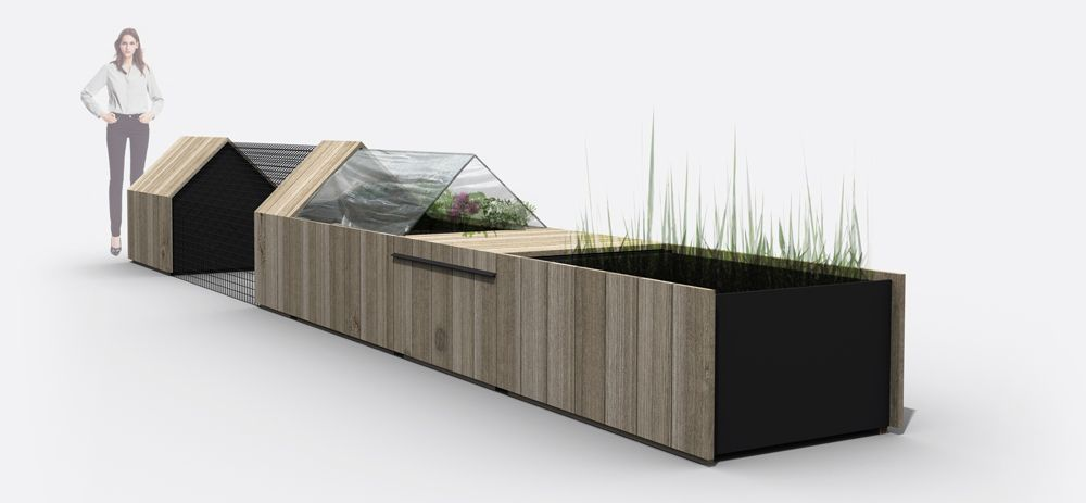 Daily Needs Modular Garden For City Life by Studio-Segers