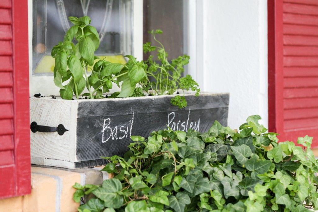 DIY herb box