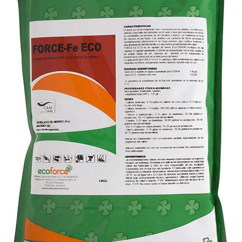 CULTIVERS Quelato de Hierro Fertilizante Ecológico de 1 Kg