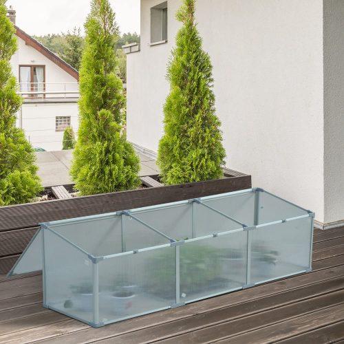 Transparente Vivero Casero para Plantas Cultivos Protección UV y Resistente 1